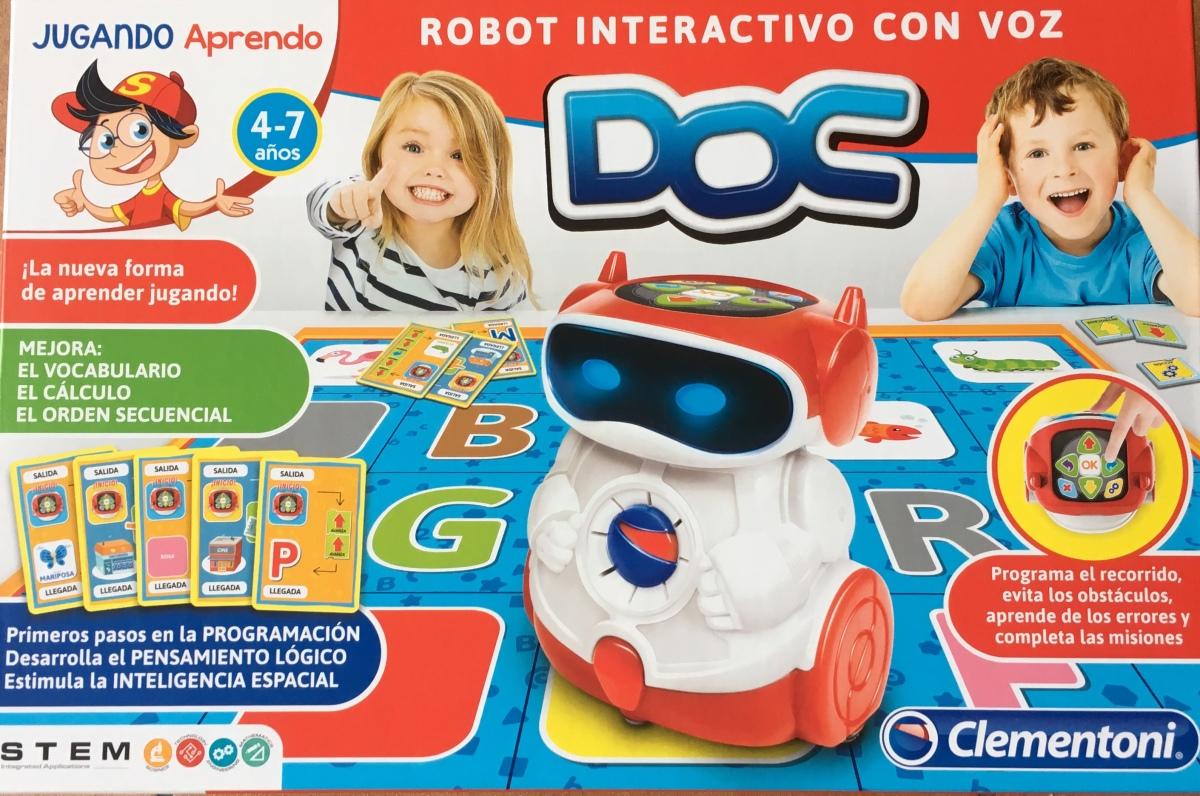 DOC, o robot de Clementoni para Educación Infantil